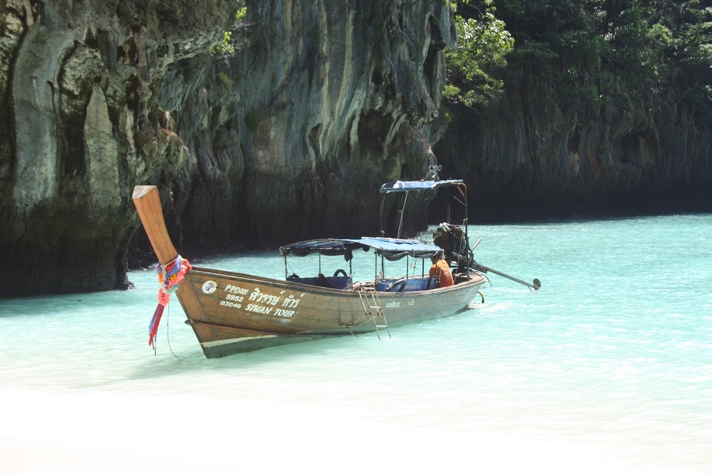 Phuket Longtail boot Bucht