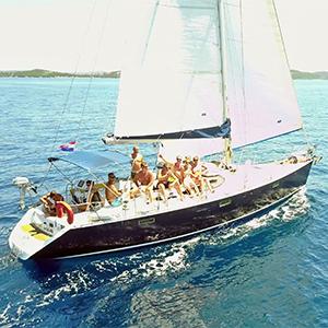 Tagesausflug Segelyacht yacht-Charter delfin-tour segeltörn