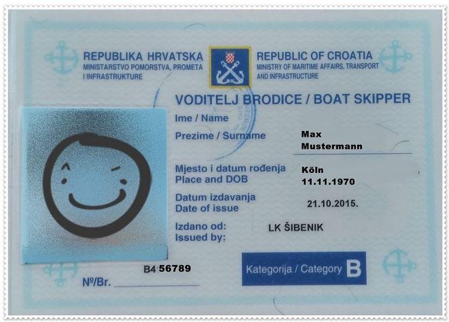 kroatisches küstenpatent bootsführerschein