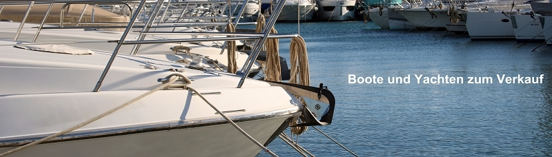 Boote und Yachten zum Verkauf