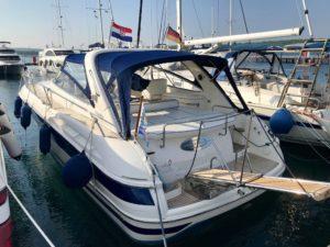 Motoryacht bavaria 38 Sport zu verkaufen Bootsanmeldung Kroatien