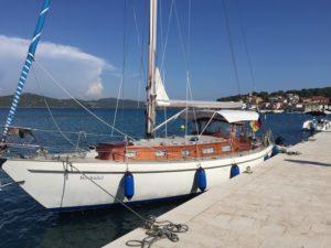 Vindoe 50 zu verkaufen Bootsanmeldung Kroatien